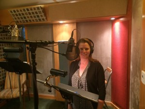 Kelly Bourquin Recording Booth